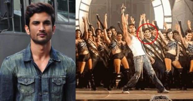 Image result for sushant singh rajput background dancer in dhoom 2 song