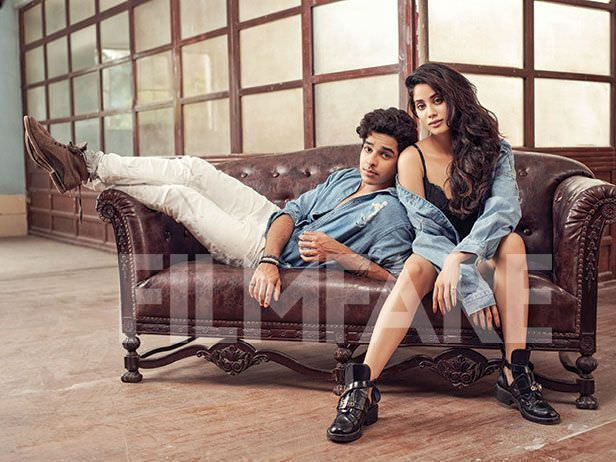 Janhvi Kapoor And Ishaan Khatter Shoot Together For Filmfare Mag