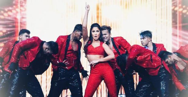 Katrina Kaif Performs Live For The Da-Bang Tour