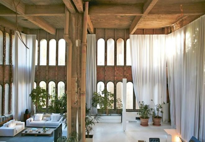 An Abandoned Factory Turned Into A Beautiful Home