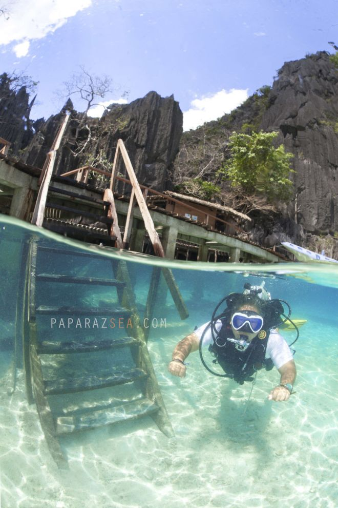 Excursion To The Barracuda Underwater Lake In Coron, Philippines
