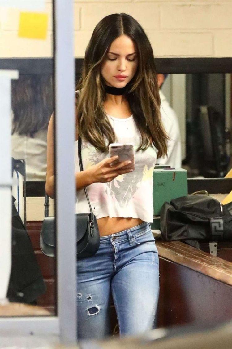 Eiza Gonzalez Leaving Her Dermatologist In Beverly Hills