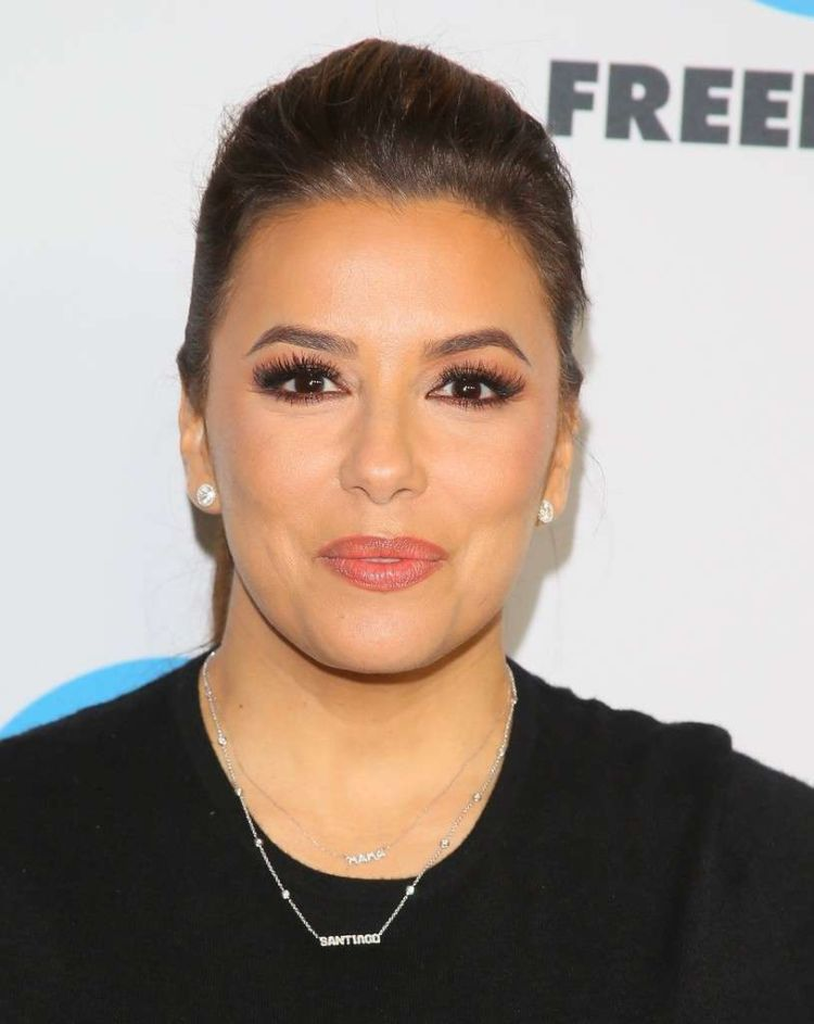Eva Longoria Attends Winter TCA Tour 2019 In Pasadena