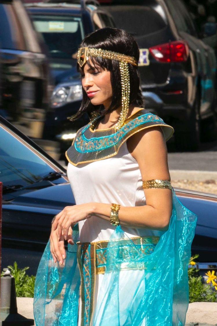 Jenna Dewan Candids Outside A Party In Los Angeles