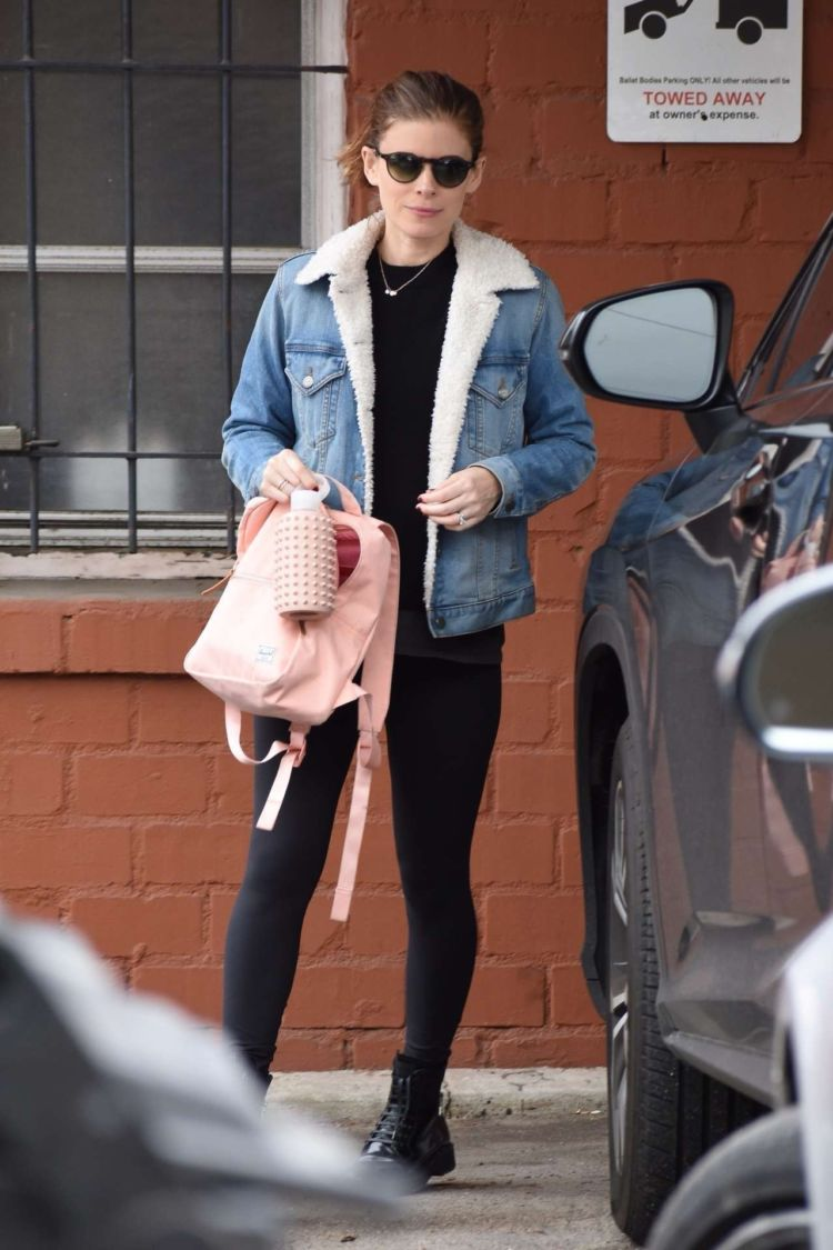 Kate Mara Candids While Leaving A Dance Class