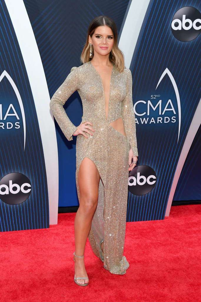 Maren Morris Shines At 52nd Annual CMA Awards