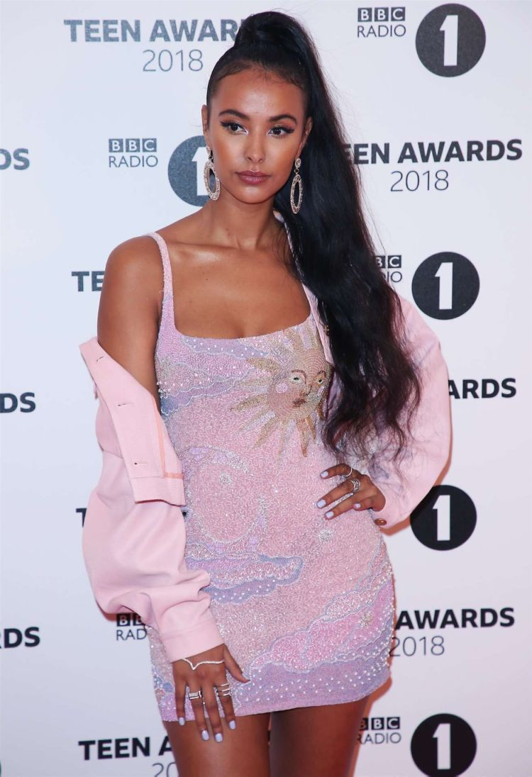 Maya Jama Attends BBC Radio 1 Teen Awards