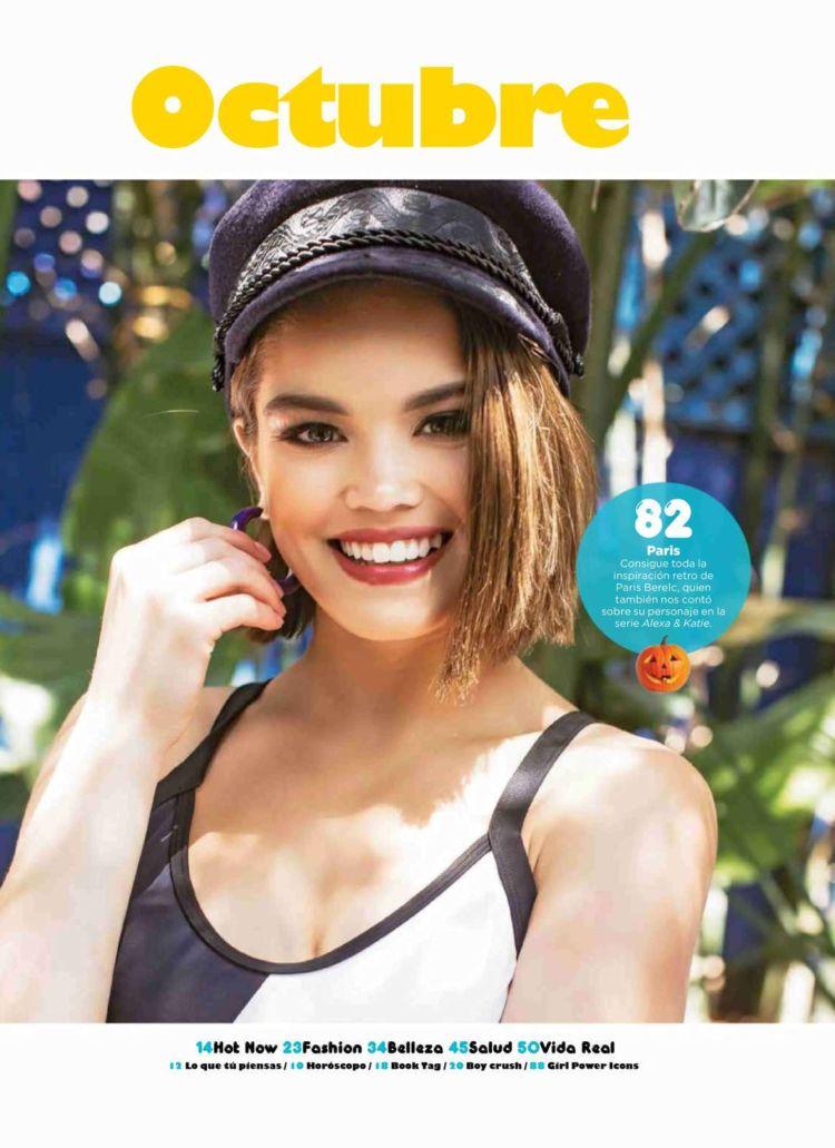 Paris Berelc Glams Up Seventeen Mexico Magazine