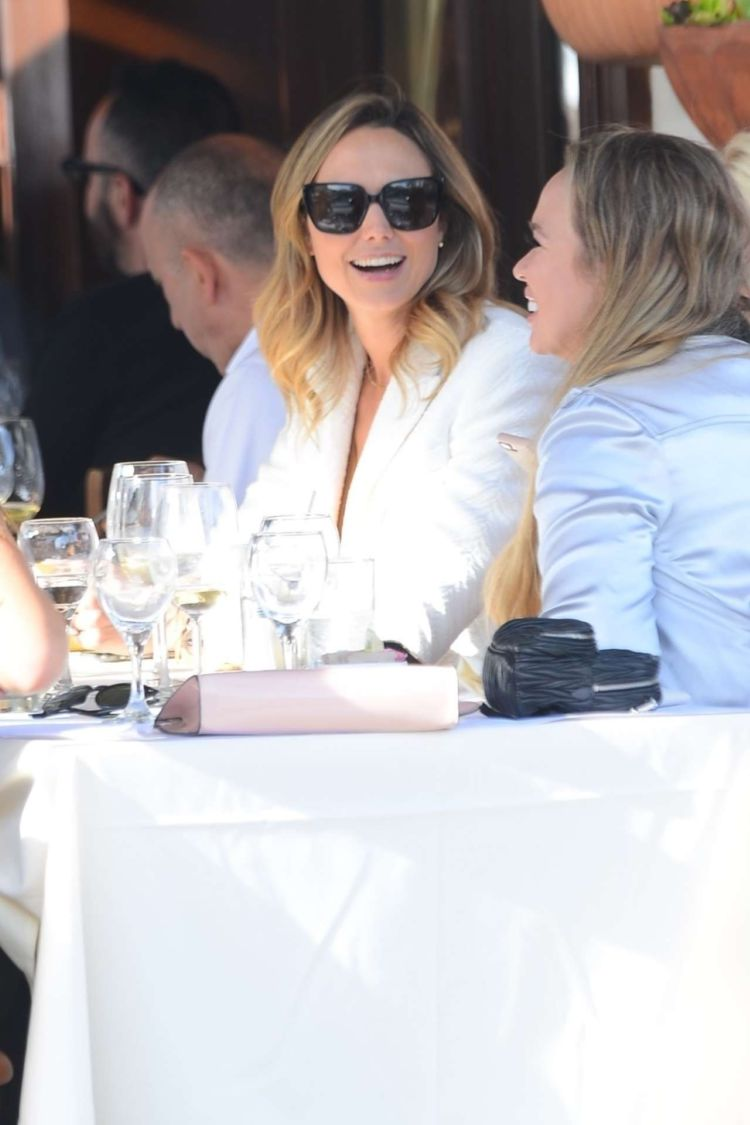 Stacy Keibler Out For A Lunch In Beverly Hills