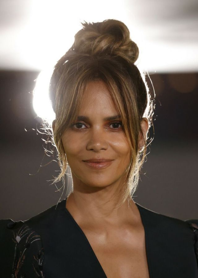 Halle Berry In A Black Dress At The Academy Museum Of Motion Pictures Opening Gala