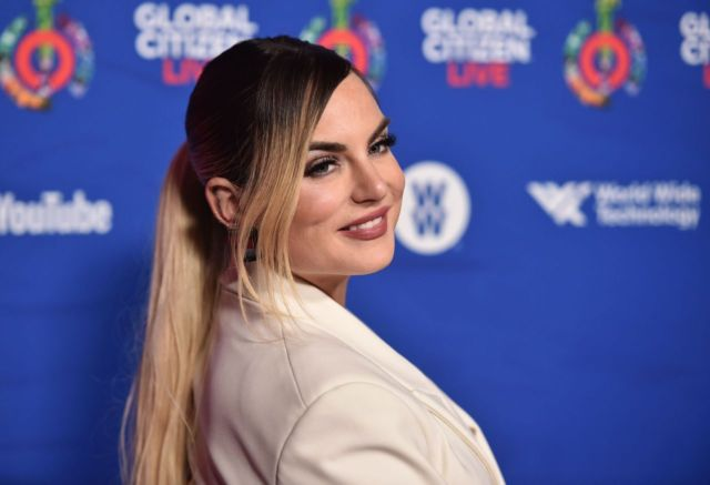 Gorgeous Joanna JoJo Levesque Turned Heads At Global Citizen Live