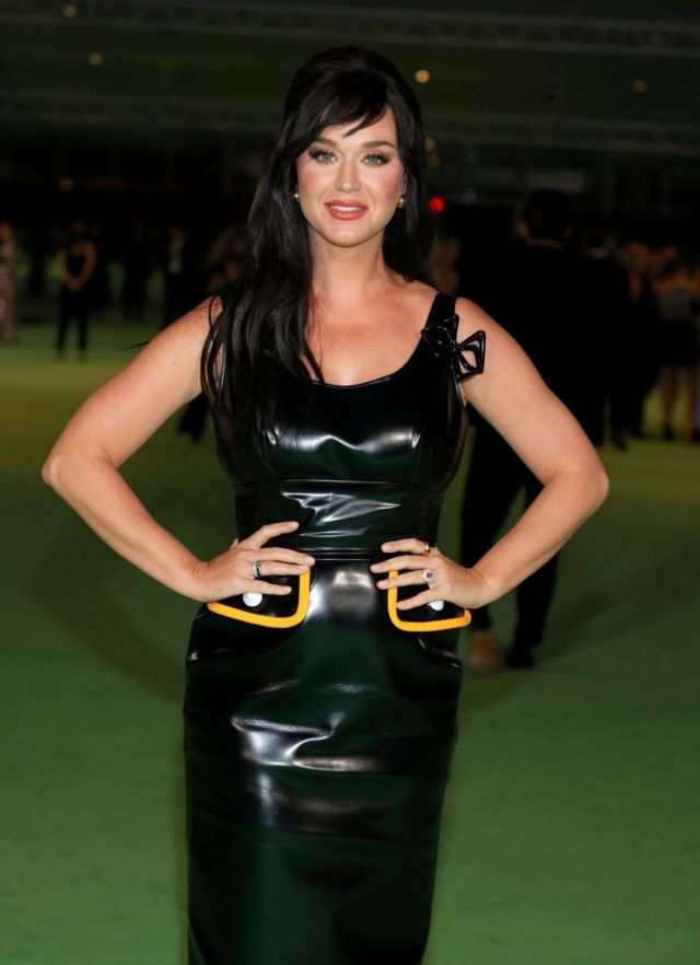 Katy Perry Shines In Black At The Academy Museum Of Motion Pictures Opening Gala