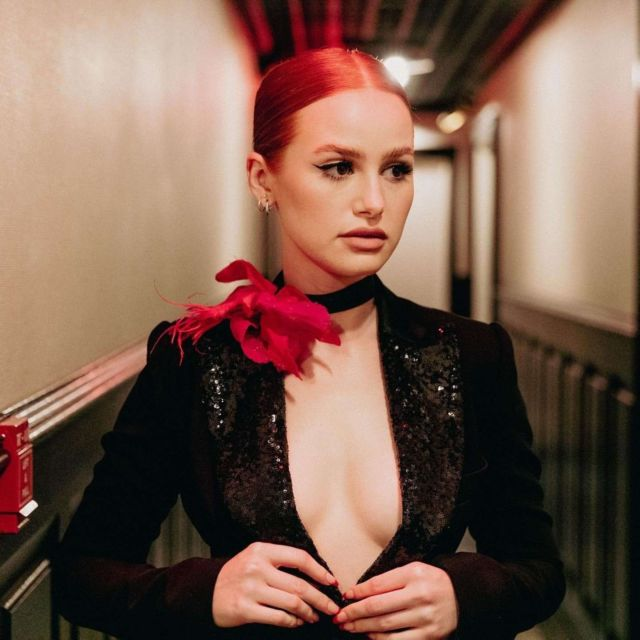 Gorgeous Madelaine Petsch For Chelsea Lauren NYFW Photo Diary
