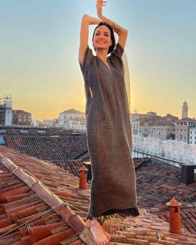 Angelina Jolie Shoots For British Vogue 2021