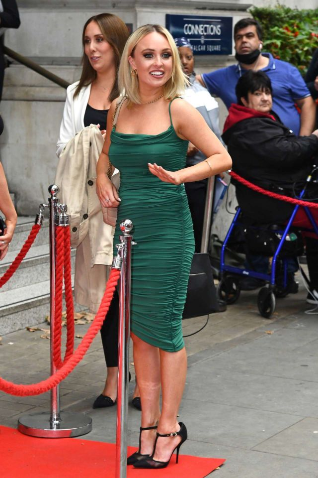 Jorgie Porter At TRIC (The Television And Radio Industries Club) Awards