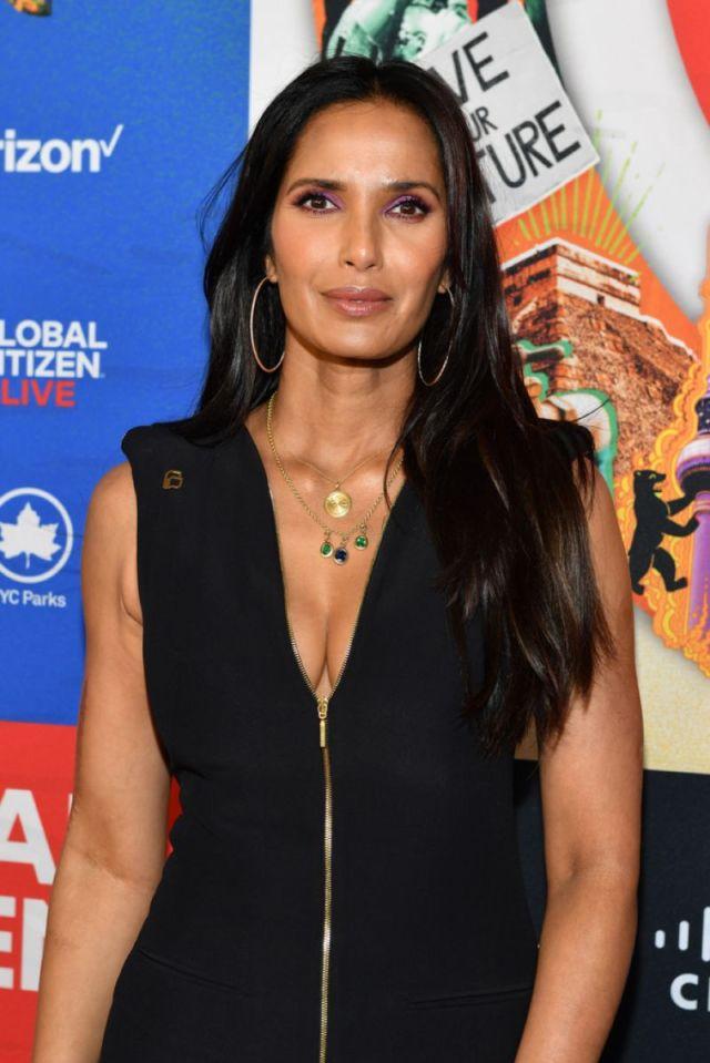 Gorgeous Padma Lakshmi In Black At Global Citizen Live 2021