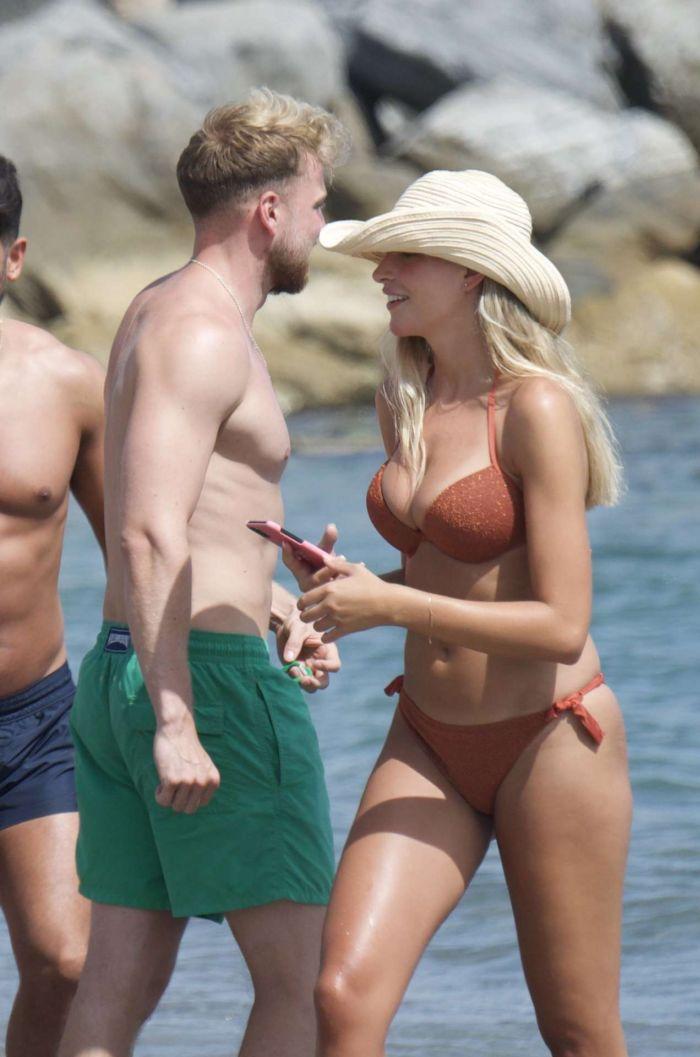 Zara McDermott An A Bikini On The Beach In Marbella