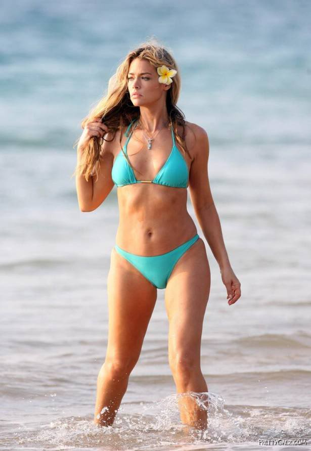 Denise Richards Bikini Madness