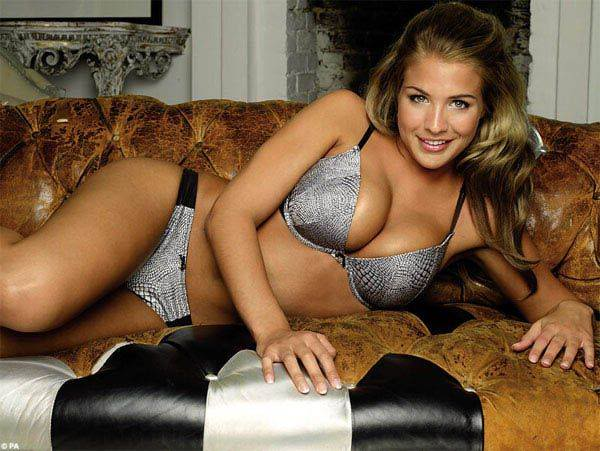 Gemma Atkinson Ultimo Lingerie Photoshoot