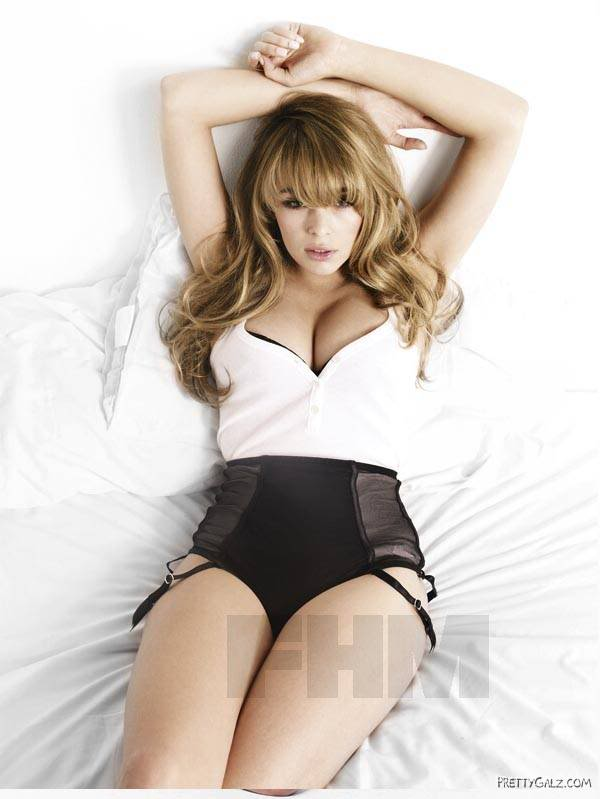 Keeley Hazell Heating Up FHM